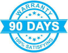 3 months warranty on most phone repairs